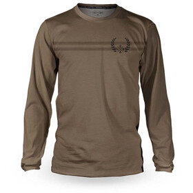 Loose Riders C/S LS Jersey Nico Vink Signature Men, laurel brown